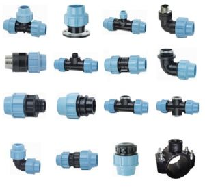 PP Compression Fittings for Water Supply/Irrigation (20-160)