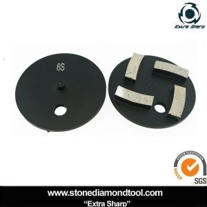 100mm Segments Metal Diamond Grinding Disc with 1 Pin pictures & photos