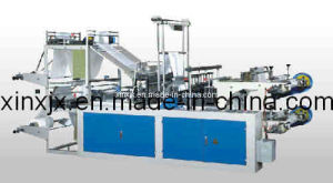 High Speed Two Lines Continuous-Rollingt-Shirt Bag Making Machine (GBD-800) pictures & photos