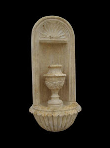 Travertine Stone Shell Fountain (22195) pictures & photos