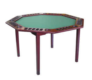 Collapsible Rosewood Poker Table