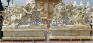 Antique Stone Carving Sculpture for Garden Stone Statue (SY-X1684AB) pictures & photos