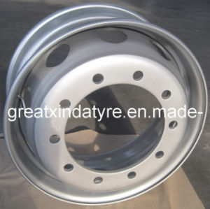 Tubeless Steel Wheel Rim22.5 (22.5X9.00) pictures & photos
