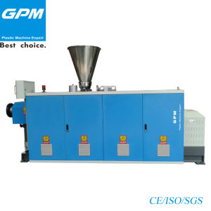 Conical Twin Screw Extruder for Profiles pictures & photos