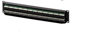 24 Ports Cat5e Patch Panel pictures & photos