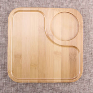 Cheap Bamboo Food Tray Natural Color Wholesale for Kitchen