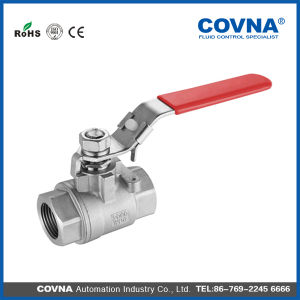 Ss316 2000wog Female to Female Ball Valve with Lock pictures & photos
