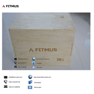 3-in-1 Plyo Box Plyometrics Boxes Plyometric Equipment Wooden Plyo Boxes Foam Plyo Boxes Wooden Exercise Box Wood Plyo Boxes for Sale pictures & photos