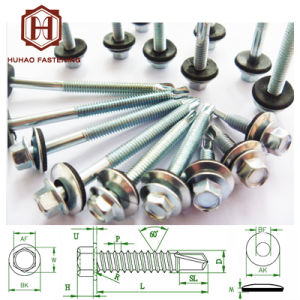 Screw/Self-Drilling Screw with Rubber Washer pictures & photos