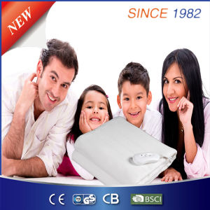 100% Polyester Electric Under Bed Warmer with Ce/GS/CB/BSCI pictures & photos