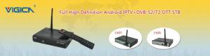 Daul Core DVB-T2 Box with Android Xbmc Media Center Vigica C60