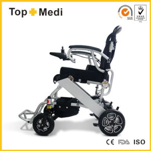 Ce SGS Certificate Medical New Product Foldable Mini Lightweight Electric Power Wheelchair pictures & photos