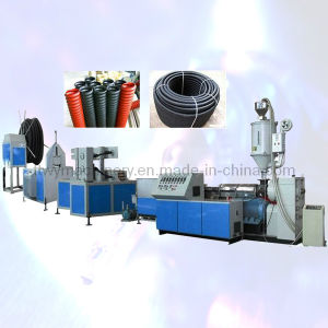 Plastic PE/PP Twin Wall Spiral Corrugated Pipe Extrusion Plastic Machine (TBWG-800) pictures & photos