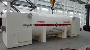 20m3 Liquid Nitrogen Oxygen Argon CO2 Tank Container for Ship, Truck, Bus