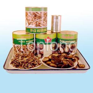 Canned Po-Ku (Shiitake) Mushrooms Whole