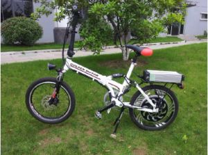 White Folding 36V 500W En15494 Electric Bike pictures & photos