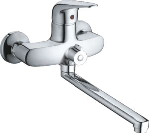 Single Handle Wall-Mounted Kitchen Shower Mixer (MY1002-65L)