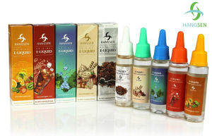 Hangsen E Liquid Best Selling Flavor Compliant with Tpd, with ISO/TUV pictures & photos