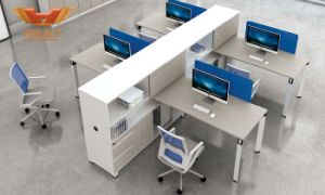 Modern 2 Seats Office Call Center Partition Cubicle Workstation pictures & photos