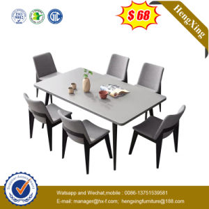 Modern Simple Wooden Home Furniture Table Set Dining Table with Chair pictures & photos