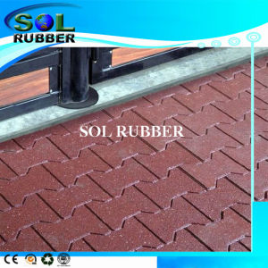 High Density Solid Quality Horse Floor Rubber Mat pictures & photos