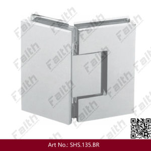 135 Degree Frameless Glass Door Hinge for Shower Enclosure (SHS. 135. BR) pictures & photos