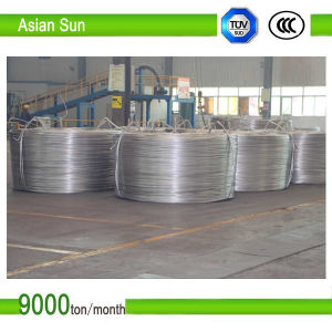 9.5mm Aluminum Connecting Electrical Wire Rod with Bottom Price pictures & photos