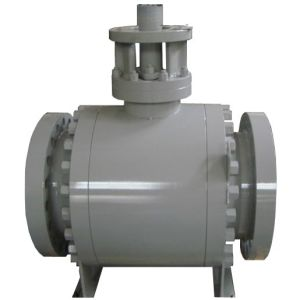 Flange Type Top Entry Trunnion Mounted Ball Valve