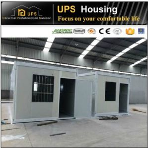 Premade Low Cost Prefab Container House with SABS Certificated for Project pictures & photos