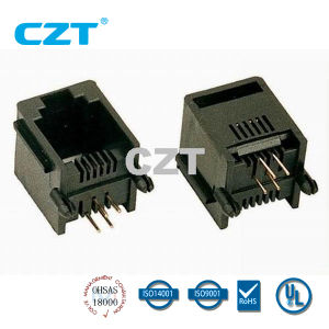 UL Approved PCB Jack Connector (YH-55-03)