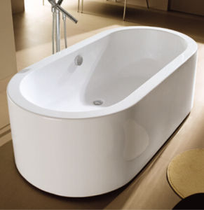 CE, Cupc Real One Piece Acrylic Freestanding Bathtubs pictures & photos