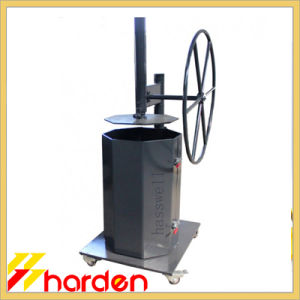 Manual Trash Compactor Garbage Bin Compressor (TC105)