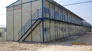 Steel Frame Sandwich Panel Prefabricated House with Cheap Price