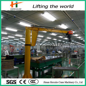 0.5t 1t Small Stationary Cantilever Cranes for Clean Workshop pictures & photos