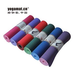 TPE PVC EVA NBR Yoga Mat, Yoga Mat Manufacturer, Eco Anti Slip Yoga Matt pictures & photos