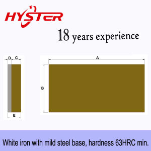 Bi-Metallic Wear Plates/Liners for Hopper Liner Wear Protection pictures & photos