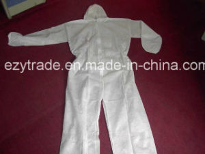 Disposable Protecttive Coverall Microporous Coverall 40g with Ce pictures & photos