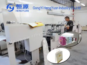 Factory Direct Sale Flat Bottom Paper Bag Machine pictures & photos