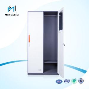 China Manufacturer Nallow Edges Steel Storage Locker / Change Room Digital 2 Door Steel Lockers pictures & photos