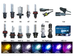 12V/24V 35W/50W 9006 Hb4 HID Xenon Lamp for Cars, 24 Months Warranty pictures & photos