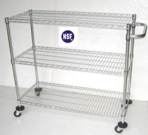 NSF Supermarket Promotion Cart Trolley Wire (CJ-A1212R) pictures & photos