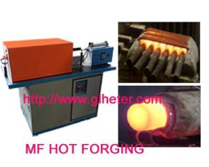 Medium Frequency Rod Heating Furnace for Inductiton Forging The Rod of Steel, Stainless Steel, Copper, Brass or Aluminium pictures & photos