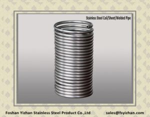 201 Stainless Steel Pipe for Heat Exchanger pictures & photos