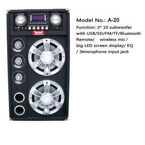Bluetooth Professional DJ Speaker A10 pictures & photos