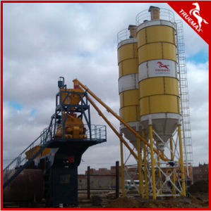 60m3/H Fixed Skip Type Low Cost Concrete Batching Plant pictures & photos