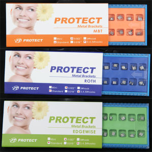 Protect Orthodontic Bondable Mini Brackets with CE & SGS Certificates pictures & photos