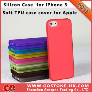 High Quality Skin for Apple iPhone 5, Soft Silicon Case for iPhone 5g, TPU Case for iPhone 5, Ultrathin Silicon Case for iPhone 5 (I5019)