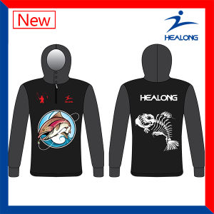 Healong China Cheap Price Apparel Gear Sublimation Men′s Fishing Jersey Shirts pictures & photos
