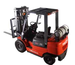 3.5 Ton Gasoline Forklift (FGL35T-HWA3) pictures & photos