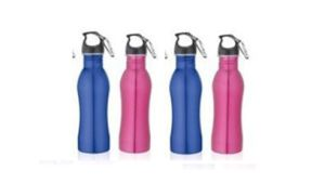Wholesale 750ml Curving Style Stainless Steel Drinking Bottle With Carabiner pictures & photos